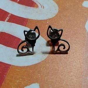 Simple Couture🔥Stainless Steel Cat Stud Earrings